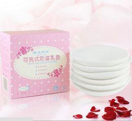 Wholesale 2 Mommy washable breast pads anti leak milk posted overflow postpartum galactorrhea pad DD1330