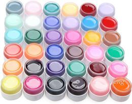 Wholesale NEW Set Pure Colors UV Gel Nail Solid UV Nail Gel Polish