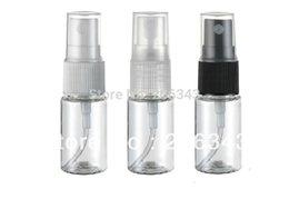 Wholesale 10ML plastic transparent spray bottle or lotion bottle or toilet water bottle mist sprayer PET bottle