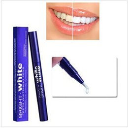 Wholesale 2015 New Bright Teeth Whitening Pen Tooth Gel Whitener Bleaching System Stain Eraser Remove Instant Teeth Whitening Gel Pen CCA1838