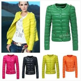 Wholesale Ladies Fashion down coat Winter jacket outerwear color clothes women thick jackets Parka Overcoat
