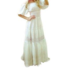 Wholesale New Women Summer Boho Long Maxi Formal Dress Beach Dress Sundress