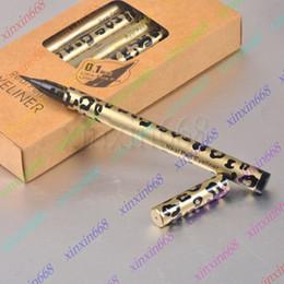 Wholesale HOT Makeup Leopard Real Pen Eyeliner Waterproof Black