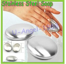 Wholesale Stainless Steel Soap Magic Eliminating Odor Smell Cleaning Kitchen Bar Hand Chef odour Remover