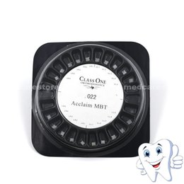 Wholesale New Items Dental Orthodontic Ceramic Bracket MBT Hooks X5 PROMOTION Pack with