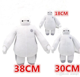 Wholesale Super Heros toys Baymax Robot Hands Moveable Stuffed Plush Animals Toys size Big hero Christmas Gifts for kids children popular toy