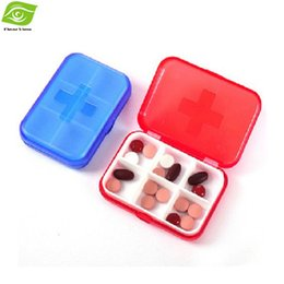 Wholesale Food Grade PP Plastic Compartments Pill Case Home Storage Box Organizer Medical Kit Pill Box dandys