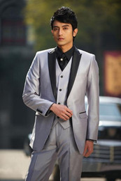 Discount Prom Satin Suit | 2017 Prom Satin Suit on Sale at DHgate.com