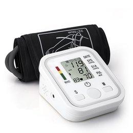 Entrega gratuita para o coração cuidados de saúde monitor de pressão arterial braço monitor de pressão arterial monitor de esfigmomanômetro nonvoice