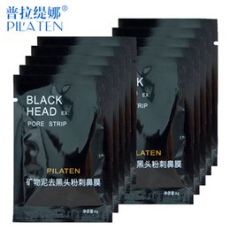 Wholesale PILATEN Face Care Facial Minerals Conk Nose Blackhead Remover Mask Pore Cleanser Deep Cleansing Black Head Pore Strip
