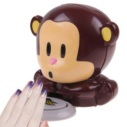 Wholesale Brand New blow dryer little blow monkey nail dryer nail dryer Hand Nail Art Tips Quick Blow Polish Dryer Blower Manicure