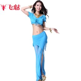 Wholesale new for belly dancing belly dance props colors indian pants top belly dance indian tribal dance