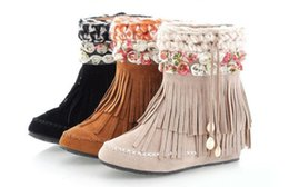 Discount Suede Fringe Boots Womens | 2017 Suede Fringe Boots ...
