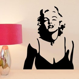Marilyn Monroe wall decor decals Mural Art Wall Sticker for Home Decoration