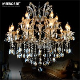 Magnificent Chandelier Online Shopping magnificent crystal chandeliers by marchetti Wholesale Maria Theresa Crystal Chandelier Light Fixture Cognac Led Crystal Lustre 15 Light Lamp For Lobby Stair Hallway Project Md2225
