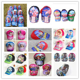Wholesale big hero Baymax Mesh hat Peaked caps frozen cap hats Ninja turtle snapback monster high caps hats cars sun hat superman boy baseball caps