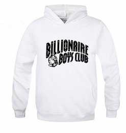 Wholesale Autumn Winter Brand Skateboard BILLIONAIRE BOYS CLUB Hoodies Men Fashion Sweatshirt Sport Suit Fleece Pullover Men