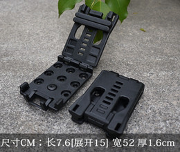online shopping 2 EDC Gear Multifunction Belt Clip can use for Knife with K sheath torch light or AXE
