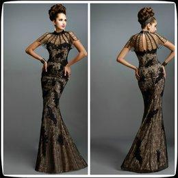 Cowl Neck Evening Dress Online  Black Cowl Neck Evening Dress for ...
