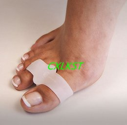 Wholesale Silicone Gel Toe Straighteners Separator Bunion Corrector Protector Pain Relief Foot Care Brand New