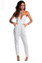 Discount White Fitted Jumpsuit | 2017 White Fitted Jumpsuit on ...