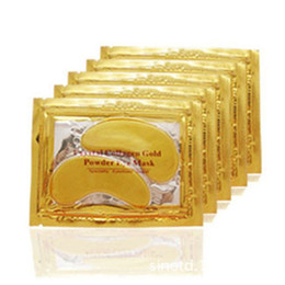 Wholesale High quality Gold Crystal collagen Eye Mask Hotsale eye patches packs