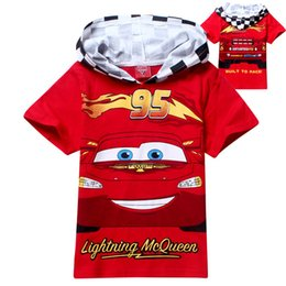 Wholesale 2015 children summer leisure clothing boy baby car character short sleeve t shirt kids tops tees