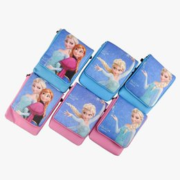 Wholesale Frozen Bag Children Bags Purse FRozen Shoulder Bags Messenger Bags for Girls Princess Elsa Handbags