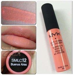 Wholesale DNL NYX Soft Matte Lip Cream Lip Gloss Lipstick Vintage Long Lasting NYX Lip Gloss g