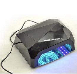 Wholesale UV LED Gel Nail Lamp Long Life Colors W W Gel Curing Tube Light Nail Art Polish Dryer Machine V V Nail Dryer UV Curing Lamp