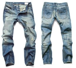 Wholesale Hot Sale Mens Jeans Men Famous Brand Fashion Denim Jeans cotton Jeans Men Large Size Desinger Jeans Men