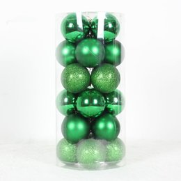 Wholesale 2015 New Arrival Merry Christmas cm Bottled Mixed Colorful Christmas Balls per barrel Festive Christmas Tree Decorations