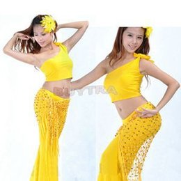 Wholesale 2014 Fashion Sexy Cancellated Belly Dance Dancing Triangular Shawl Hip Scarf Dancewear Costumes Colthers Women