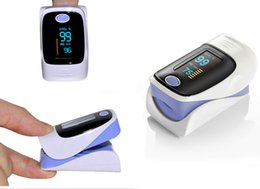 Wholesale 2015 New CE OLED Fingertip Pulse Oximeter Alarm Spo2 Blood Monitor directions Modes Color Blue Grey Pink Purple Green