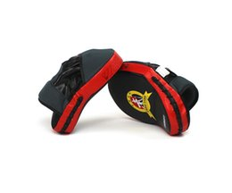 online shopping 1 Boxing Mitt MMA Target Hook Jab Focus Punch Pad Training Glove Karate Boxing Trainning supplies newest