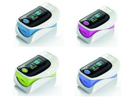 Wholesale 2015 New Updated Brand New Fingertip Pulse Oximeter SPO2 Pulse Rate Oxygen Monitor Sound Alarm Different Directions Display with retail