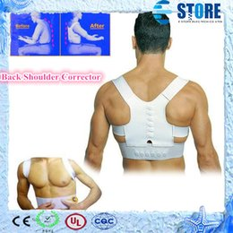 Wholesale Back Shoulder Corrector Support Brace Belt Magnetic Therapy Posture Support wu
