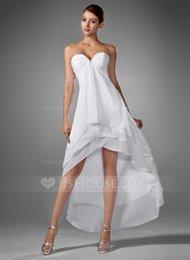 Wholesale 2014 fashionable refreshing satin strapless sleeveless asymmetrical pleats backless homecoming dress