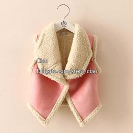Wholesale Fashion Girl Vest Children Waistcoat Korean Warm Vests Children Outwear Girl Dress Winter Coat Kids Waistcoat Children Clothes Kids Clothing