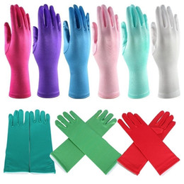 Wholesale full finger gloves for halloween Christmas party snow queen elsa gloves Elsa Cosplay Costume Snow Queen Anime gloves coronation the_one