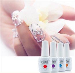 Wholesale 48pcs Gelish harmony Nail Polish colors LED UV Gel nail polish Nail art lacquer Soak off nail gel French nail By DHL