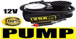 Портативный 12V 250PSI Электрический насос Воздушный компрессор шин Надувное для мотоциклов / Электромобиль / Каноэ CEC_010