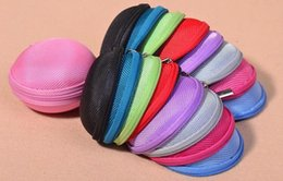 Wholesale Colorful Earbud Carrying Storage Bag Pouch Hard Case for Earphone Headphone USB cable Coin etc