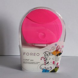 Wholesale Rechargeable Foreo Luna Mini Ultrasonic Instrument Super Facial Cleaner Waterproof Charge Electric Lun Foreo Brightening Cleansing
