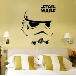 freedhl wall stickers star wars 7 cartoon wall stickers party decoration bedroom decoration in the wall wallpaper 16 inch126 inch e262l - Star Wars Decorations