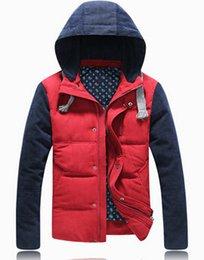 Wholesale New sale autumn winter jackets coat cardigan brand casual man down jacket paka fashion hoodies outdoor men clothing parkas
