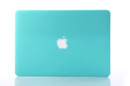Rubberized Frosted Matte Hard Shell Laptop casos Full Body Protector Case Cover para Apple Macbook Air Pro 11 '' 12 '' 13