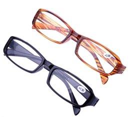 Wholesale 20 ultralight reading glasses reading eyewear full frame black brown presbyopic glasses diopter to