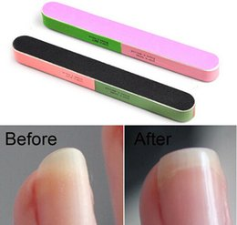 Wholesale Article Nail File Of The Six Sides Frosted Professional Manicure Tools Drop Shipping
