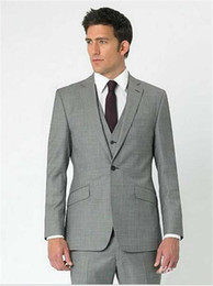 Discount Grey White Prom Suits For Men | 2017 Grey White Prom